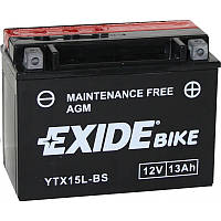 Мото аккумулятор EXIDE YTX15L-BS