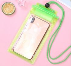 Водонепроницаемый чехол для смартфона Зеленый