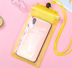 Водонепроницаемый чехол для смартфона желтый