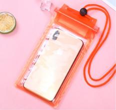 Водонепроницаемый чехол для смартфона Оранжевый
