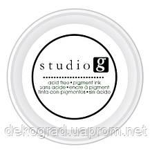 Штемпельная подушечка Black, Studio G, Белый