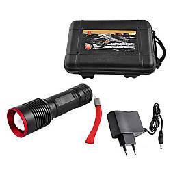 Ручной аккумуляторный фонарь Bailong BL-868-P50 D114