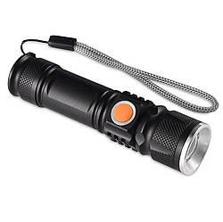 Ручной аккумуляторный фонарь Bailong BL-P07-P50 D114