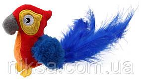 Игрушка для Кошек Gigwi Melody Chaser Попугай с Датчиком Касания и Звуковым Чипом 12 см