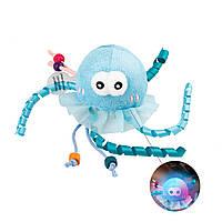 Игрушка для Кошек Gigwi Shining Friendz Медуза c Cветовым Эффектом 7 см