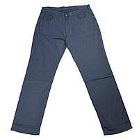 Мужские хлопковые штаны IFC 18037 54-66 размера синие Турция батал большой размер, фото 1