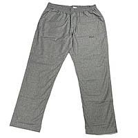 Чоловічі бавовняні штани Olser 18038 6XL 7XL 8XL 9XL 10XL 11XL 12XL 13XL сірі Туреччина батал великий розмір, фото 1