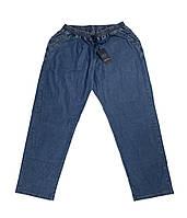 Чоловічі джинси на резинці Dekons 18039 56-74 розміру сині великого батального розміру Туреччина, фото 1