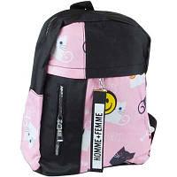 Рюкзак розовый кот Navigator 74265-NV