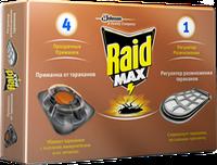 Приманка для тараканов Raid с регулятором размножения 4 шт