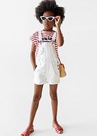 Джинсовий комбінезон шорти для дівчинки від Zara Іспанія