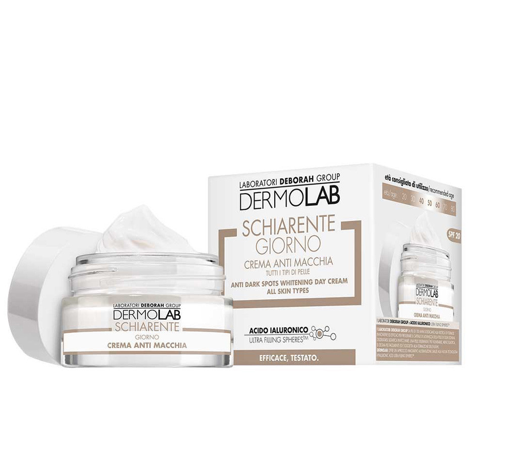 Крем дневной Deborah Dermolab Whitening day cream, 008596, 50 мл (ДИ2327)