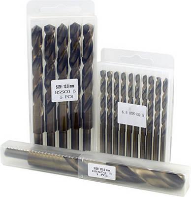 Сверло по металлу P6M5K5 (HSS Co5) легированное кобальтом