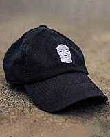 Кепка унісекс Вогонь Гармата Mask чорна