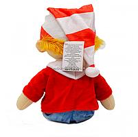 М'яка іграшка «Буратіно», хутро штучне, 40 см (00417-32), фото 2