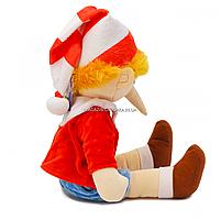 М'яка іграшка «Буратіно», хутро штучне, 40 см (00417-32), фото 3