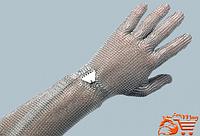 Рукавичка металева п'ятипала Falcon, з манжеткою 15 см, з металевим крючком, Schlachthausfreund