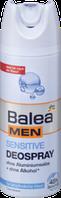 Дезодорант для тела Нежное прикосновение для чувствительной кожи  Balea men Deospray Sensitive 200 мл