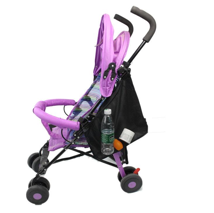 Сітка - сумка для коляски Чорна