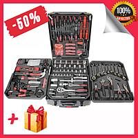 Профессиональный набор инструментов dms 408 предметов с тележкой, универсальный набор инструментов для дома