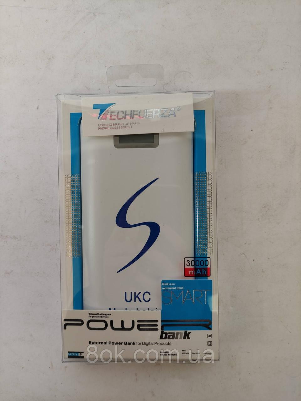 Зовнішній акумулятор Power Bank 30000 mAh UKC