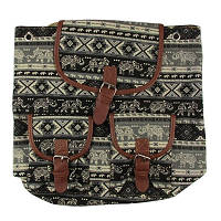 Рюкзак тканевый Слоник-вышиванка 8-74