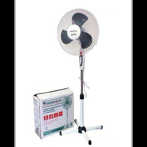 Вентилятор бытовой напольный с пультом GRUNHELM GH-1621. Вентилятор электрический комнатный поворотный Toys