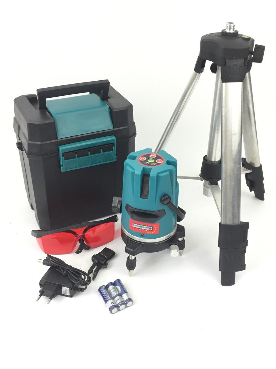 Лазерный уровень нивелир Euro Craft ECNL01 30м + в комплекте штатив