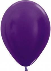 """Куля 12"""" (30 см) Sempertex 551 фіолетовий металік (Семпертекс)"""