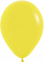 "Куля 12"" (30 см) Sempertex 020 пастель жовтий (Семпертекс)"