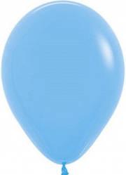 """Куля 12"""" (30 см) Sempertex 040 пастель блакитний (Семпертекс)"""