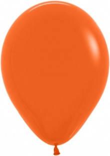 """Шар 12"""" SEMPERTEX-СТ пастель 061 оранжевый, фото 2"""