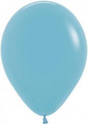 "Куля 12"" (30 см) Sempertex 038 пастель синя бірюза (Семпертекс)"