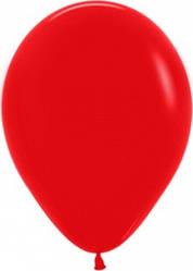 """Куля 12"""" (30 см) Sempertex 015 пастель червоний (Семпертекс)"""
