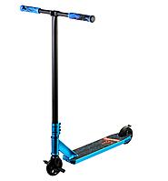 Scooter трюковий двоколісний самокат з пегами та HIC системою (блакитний)