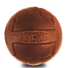 Кожаный винтажный мяч T-model 1930 (коричневый)