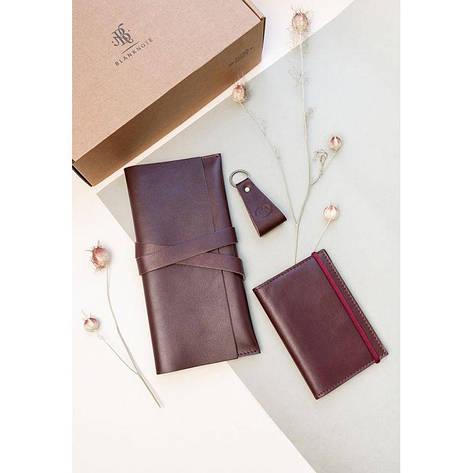 Набор кожаных аксессуаров для путешественника Венеция Краст, фото 2