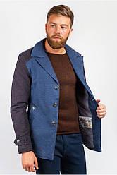 Мужской комбинированный пиджак