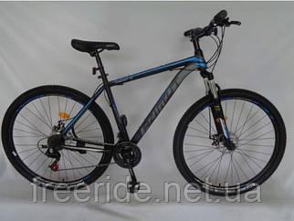 """Гірський Велосипед Azimut 40D 29"""" (20) чорно-синій"""