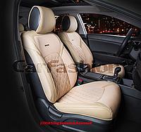 Накидки на сидіння CarFashion Модель: STING FRONT комплект на два передніх сидіння, фото 1