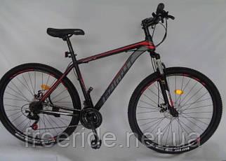 """Гірський Велосипед Azimut 40D 29"""" (20) чорно-червоний"""