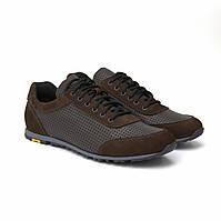 Літні кросівки шкіряні коричневі з перфорацією кеди взуття великих розмірів Rosso Avangard Ada Sport Perf BS, фото 1