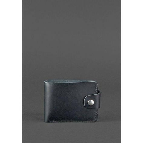 Кожаное портмоне 4.3 черное, фото 2