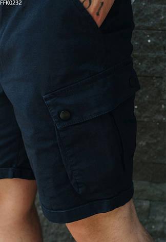 Мужские шорты карго Staff cargo fil navy тёмно-синий FFK0232, фото 2