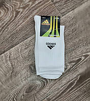 Шкарпетки чоловічі білі адідас, фото 1