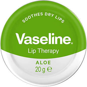 Бальзам для губ с алоэ Vaseline Lip Therapy Lip Balm Aloe 20 г