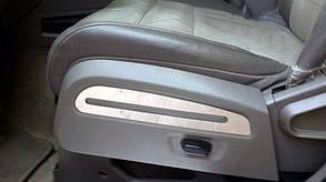 Хром накладки на сиденья Dodge Nitro