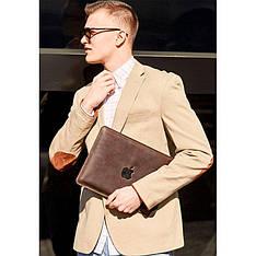 Кожаный чехол для MacBook Air/Pro 13'' Темно-коричневый