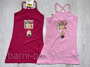 Сарафан трикотажный на девочек оптом, Disney , 3-8 рр., фото 2