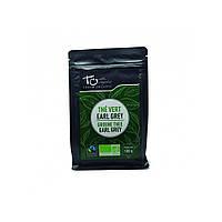 Чай зелений Ерл Грей з ароматом бергамоту неферментований розсипний Touch Organic,100 г